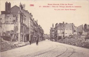 France Reims Rue de l'Etape 1920