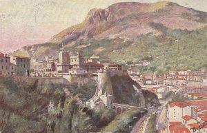 MONTE-CARLO, Monaco, 00-10s; le Palais du Prince et la Tete de Chien , TUCK