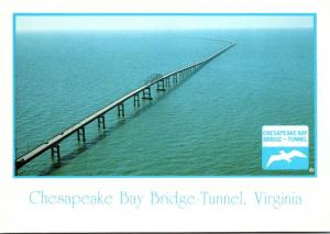 Virginia Chesapeake Bay Bridge-Tunnel Looking South