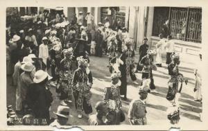 china, HONG KONG (?), Unknown Procession (1920s) RPPC Postcard