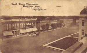 Missouri Mo Postcard c1910 BOLIVAR East Side Square Stores Sykes Image