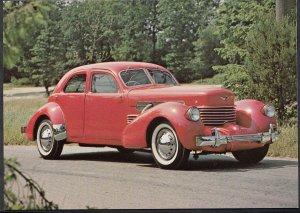 Road Transport Postcard - 1937 Cord Beverley Sedan Motor Car   F871
