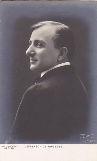 Famous Men Jefferson De Angeles Rotograph Photo