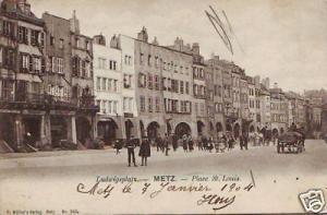 CPA Lorraine Moselle Metz Place St Louis (p84523)