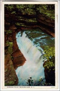 Diamond Falls, Watkins Glen NY