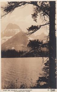 RP: GLACIER NATIONAL PARK , Montana , 1910-30s ;Lake McDermott ; Hileman