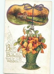 Divided-Back GREAT SCENE Greeting Postcard AA7360