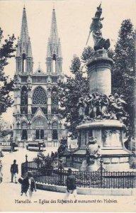 France Marseilles Eglise des Reformes et monument des Mobiles