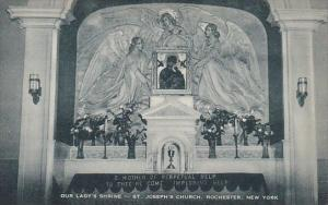 New York Rochester Our Ladys Shrine Saint Josephs Church Artvue