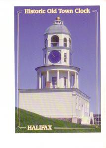 Closeup of Historic Old Town Clock, Halifax Nova Scotia,