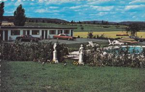 Swimming Pool, Motel Olympe Enr., Lafontaine, St Jerome, Quebec, Canada, 40-6...