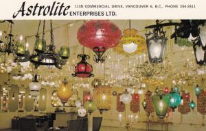 VANCOUVER , B.C. , Canada , 50-60s ; Astrolite Enterprises Store