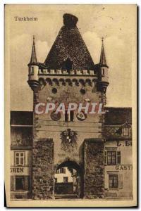 Old Postcard Turkheim