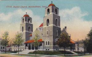 Baptist Church , Marshalltown , Iowa , PU-1908