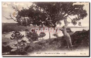 Old Postcard Agay View from the hill