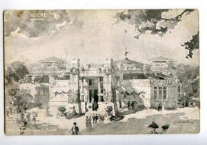 158181 Pavilion IGIENE Arch. Bongi by Palanti MILANO 1906 Expo