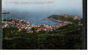 MONACO, 1900-1910's; La Turbie, Panorama De La Pringipaute De Monaco, Vue Du ...