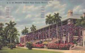 Florida Hialeah Beautiful Hialeah Race Course 1955