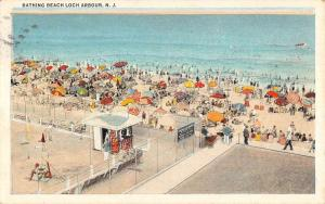 Loch Arbour New Jersey Bathing Beach Birdseye View Antique Postcard K104802