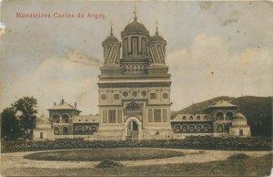 Romania ARGES Curtea de Arges manastirea