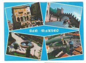 San Marino Multiview 4 vues 4X6 Postcard