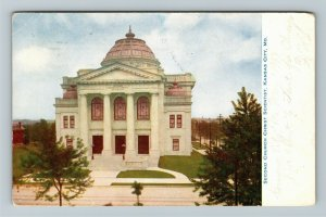 Kansas City MO-Missouri, Second Church Christ Scientist, Vintage c1907 Postcard