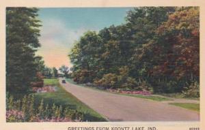 Indiana Greetings From Koontz Lake