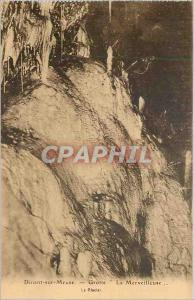 Old Postcard Dinant-sur-Meuse - Cave '' The Wonderful ''