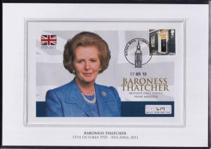 The Baroness Margaret Thatcher Commemorative Cover Limited Edition