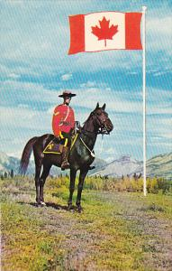 Canada Royal Canadian Mounted Police & new flag of Canada