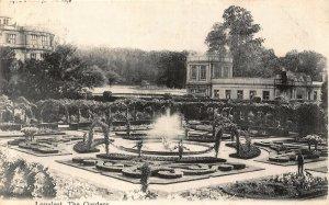 Longleat The Gardens Fountain Postcard