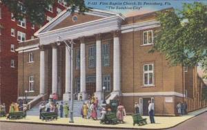 Florida St Petersburg First Baptist Church