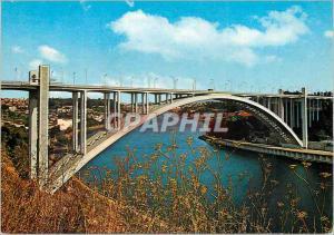 Postcard Modern has 864 port portugal bridge of arrabida