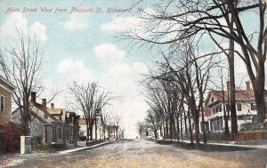 Richmond Maine 76 Main Street, West of Pleasant St ~Church~Little Houses c1906