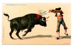 Bullfighting - Fire Flags