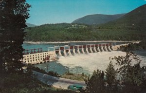 BRITISH COLUMBIA, Canada, 40-60s ; Highway  (3A), Corra Linn Dam