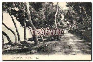 Postcard Old Cap Martin Sous Bois