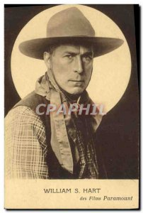 Postcard Modern Cinema William S. Hart Cowboy
