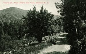 NH - Jackson. Thorn Mountain from Thorn Hill Road