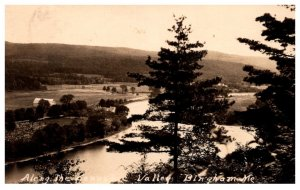 Maine Bingham , Aerial View Kennebec Valley , RPC