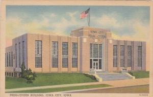 Iowa Iowa City Press-Citizen Building Curteich