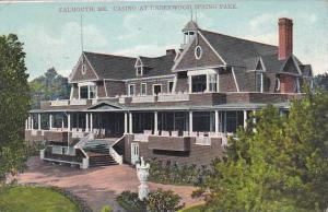 Maine Fallmouth Casino At Underwood Spring Park 1907
