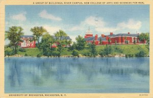 Buildings on Genesee River Campus University of Rochester NY New York pm 1941