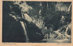 Pod Sastavcirna, Plitvička Jezera, Croatia, 1910-1920s