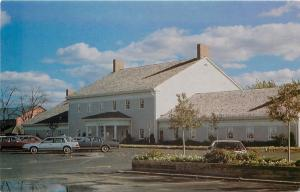 Archbold Ohio~Sauder Farm And Craft Village~Cars~1980s Postcard