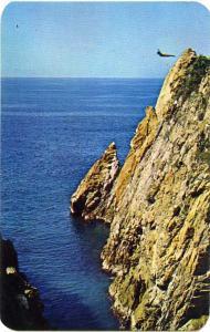 Cliff Diver at La Quebrada, Acapulco, Mexico