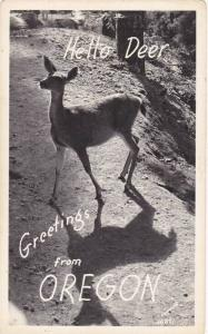 RP, Deer, Greetings From Oregon, 1920-1940s Sawyers