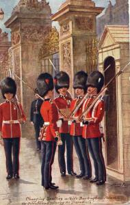 UK The Coldstream Guards Military London 01.54