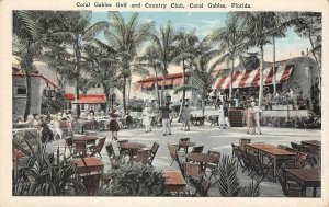 CORAL GABLES Golf & Country Club, Florida ca 1920s Vintage Postcard