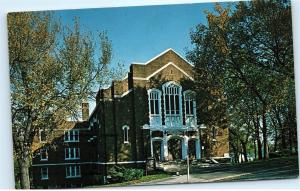 1968 2501 Paseo Blvd Paseo Baptist Church Kansas City Missouri Postcard B05